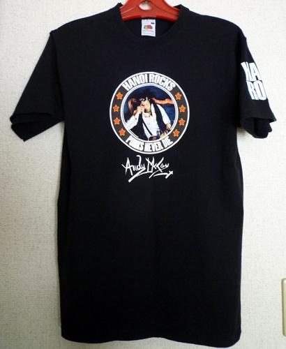 Tシャツ ANDY McCOY HANOI ROCKS アンディマッコイ ハノイロックス パンク グラム