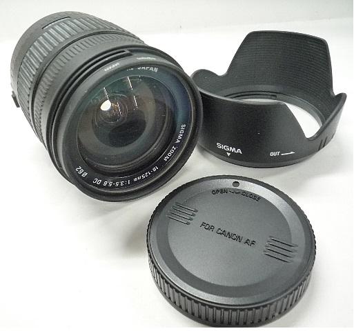 ◆◇SIGMA シグマ 18-125mm F3.5-5.6 キャノン用 R0030◇◆