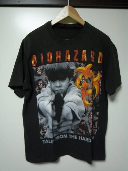 BIOHAZARD バイオハザード Tシャツ 黒 USED NYHC METAL HARDCORE
