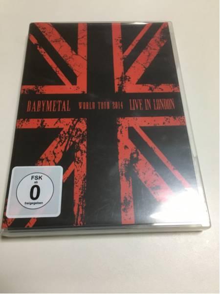 BABYMETAL  LIVE IN LONDON  BABYMETAL WORLD TOUR 2014 [輸入盤] 2枚組 ライブグッズの画像
