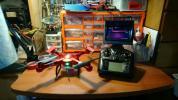 WLtoys Q222GオートホバリングFTVドローン、フルセットオマケ付き