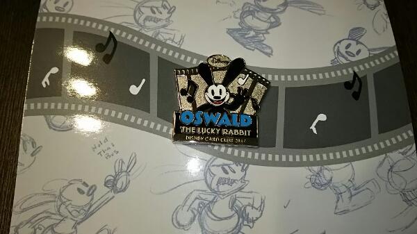 Disney JCBカード★オズワルド★非売品★ピンバッジ ディズニーグッズの画像