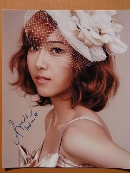 元少女時代 ジェシカ・チョン Jessica Jung チョン・スヨン Jung Soo-Yeon 直筆サイン入り写真 証明書付 コンサートグッズの画像