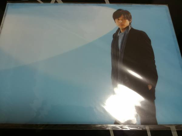 V6 クリアファイル 坂本昌行さん 2010年 READYコン 新品未開封 コンサートグッズの画像
