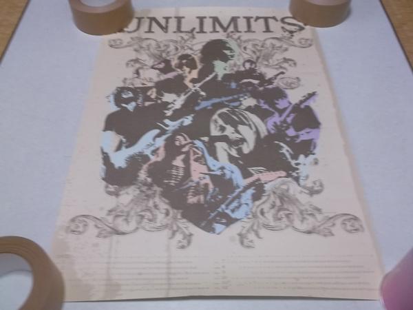 ▼ アンリミッツ UNLIMITS 【 2012カレンダー ポスター 】