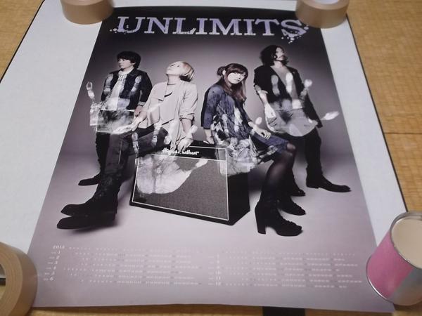 ▼ アンリミッツ UNLIMITS 【 2013カレンダー ポスター 】