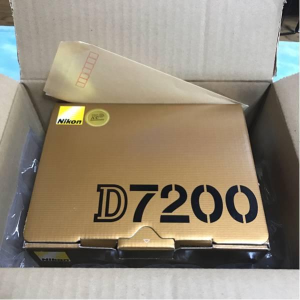 Nikon D7200 未開封 新品 保証付