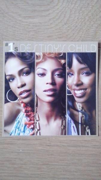 デスティニーズ・チャイルド Destiny's Child ナンバーワンズ ステッカー Beyonce ビヨンセ