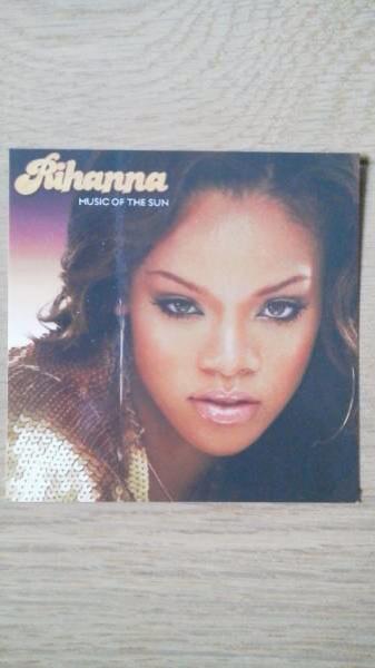 リアーナ Rihanna デビューアルバム MUSIC OF THE SUN ステッカー