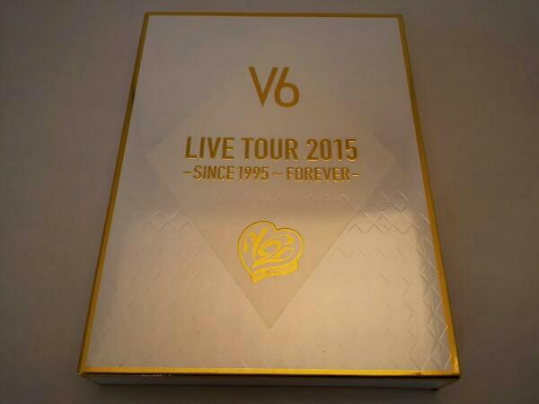 LIVE TOUR 2015 -SINCE 1995~FOREVER-(初回生産限定版A)/V6 コンサートグッズの画像
