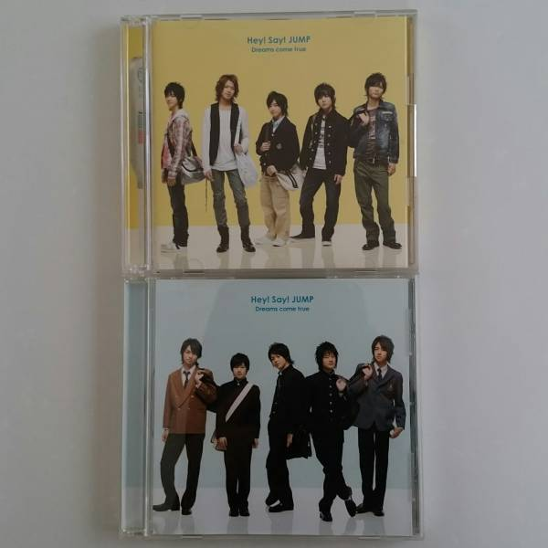 Hey!Say!JUMP2枚セット!Dreams come true初回DVD通常 コンサートグッズの画像