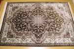 高級天然シルク100% ペルシャ柄絨毯 新品未使用 150×230 訳あり