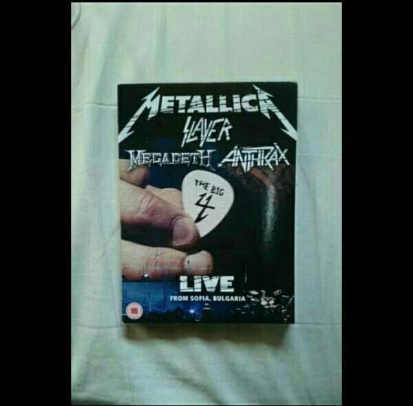 Big 4: Live From Sofia Bulgaria METALLICA,MEGADETH,SLAYER,ANTHRAX DVD ライブグッズの画像