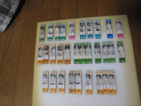 森下仁丹 景品 野球カード