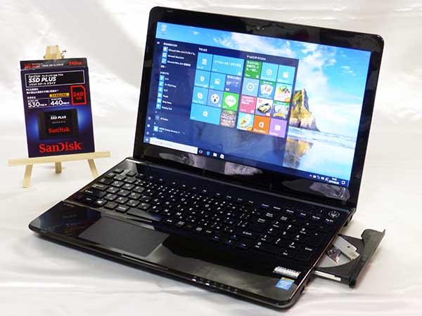 美☆速っ!新品SSD240G☆NEC LS700/NSB corei7-4702MQ メモリ8G MSオフィス2010 ブルーレイ ブルートゥース HDMI USB3.0 即決特典☆