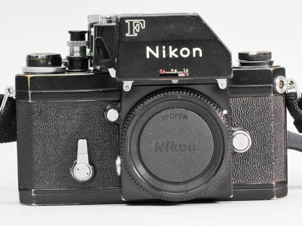 □ NIKON ニコン F フォトミックFTnファインダー付 ブラックボディ