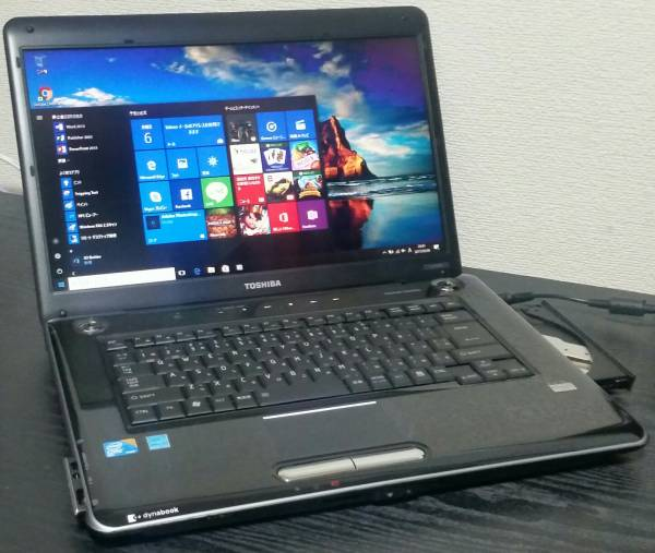 16型美【Win10 Office2013】AC付 dynabook Core2 HDD新品1000G