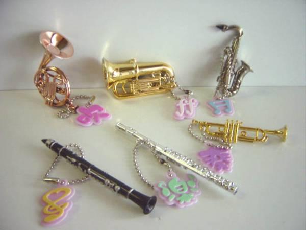 ★Gui15Bzキラメッキ楽器ストラップ5全6種ホルン管楽器チューバ:♂EPOCHエポック ♀200円〓008223_c