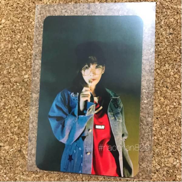 【即決】テヨン MY VOICE トレカ 美品 サイン 少女時代 FINEver ソロアルバム i got love