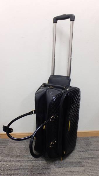 【I20】小旅行に☆セシルマクビーCECIL McBEE キャスター付きボストンバック★格安_画像2