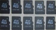 ■マイクロSDカード,microSDカード,2GB,10枚セット,送料無料■■