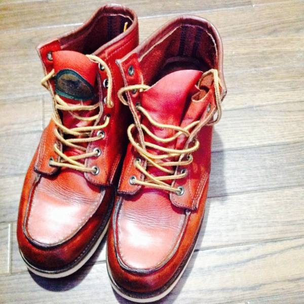 REDWING レッドウィング 875 半円 犬タグ 8.5 美品 ブーツ_画像1