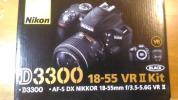 【美品】Nikon D3300 18-55mm VR�U レンズキット 保証付