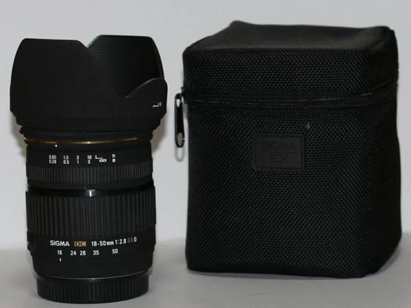 【即決あり】SIGMA 18-50mm F2.8 EX DC SONY α用