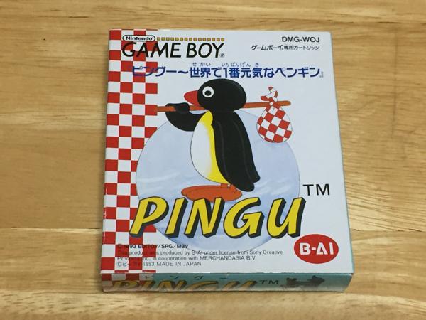 ★GB「ピングー ~世界で1番元気なペンギン」箱・取説付き/ビーアイ/ゲームボーイ/PINGU★