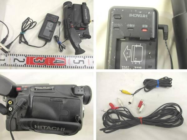 ● 日立製作 ビデオカメラ ② 『VM-E120』 日本製 【箱説無・動作可・中古品】 1組 ●_画像3