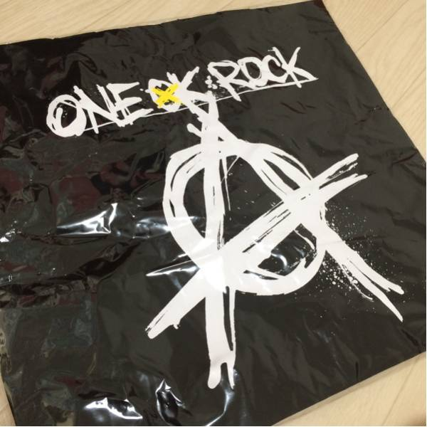 前後プリント有★ONE OK ROCK 2017 Ambitions トートバッグ ブラック ワンオクロック他 マイファス マンウィズアミッション SIMバンド出品