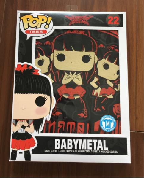 BABYMETAL FUNKO POP! Tシャツ ユニセックス Mサイズ ライブグッズの画像