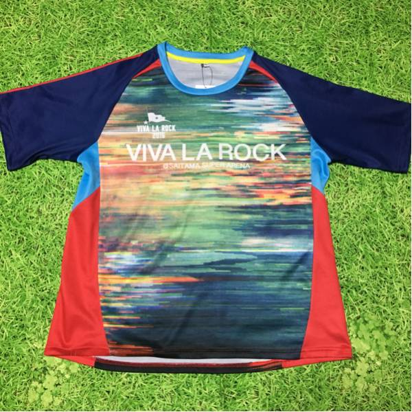 ★送料無料★ビバラロック2016VIVALAROCKサッカーシャツフェス