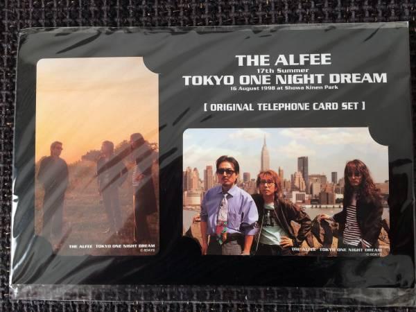 THE ALFEE 1998 TOKYO ONE NIGHT DREAM テレフォンカードセット