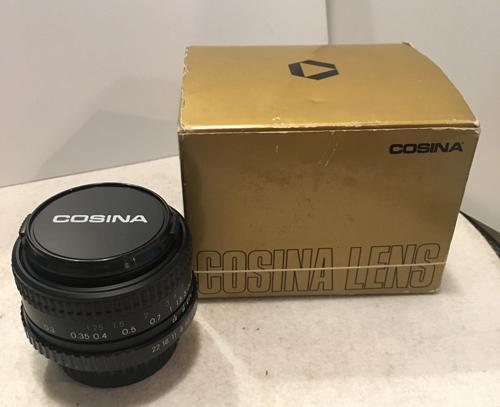 ★★M42★箱付美品!COSINA 28mm F2.8 MC MACRO レンズ プラクチカ