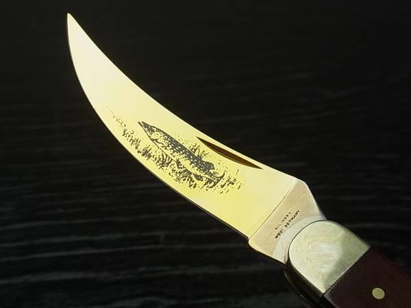 312 ナイフ  折り畳みナイフ SOLINGEN  ゾーリンゲン 魚 フィッシング 釣り_画像2