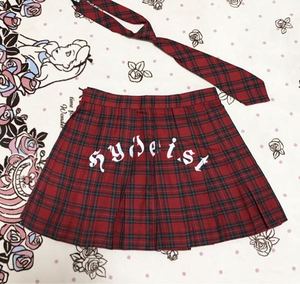☆【未着用】 hydeist ライブスーツ スカート 制服 ☆ HYDE ラルク L'Arc☆