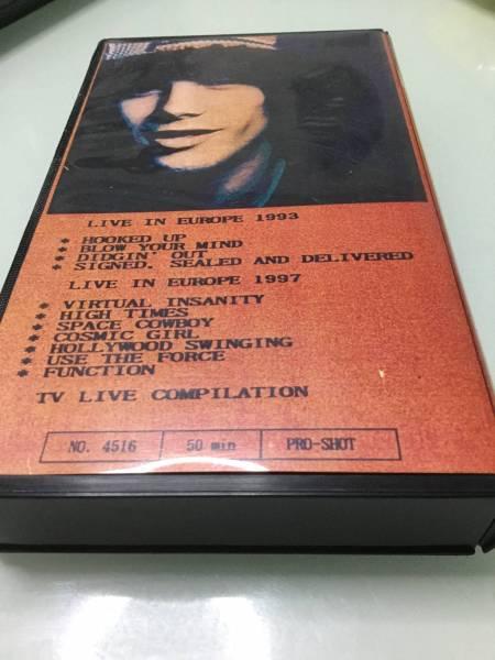 VHSビデオJamiroquai ジャミロクワイ Live in Europe 1993 TV Live Compilation_画像2