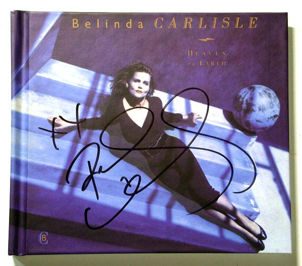 ★【ベリンダ・カーライル/Belinda Carlisle】直筆サイン入り2CD★DVD★
