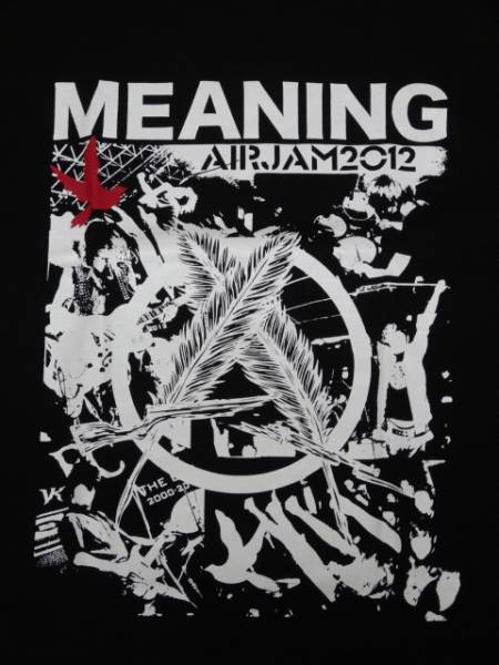 新品/MEANING AIR JAM 2012限定Tシャツ/ミーニング
