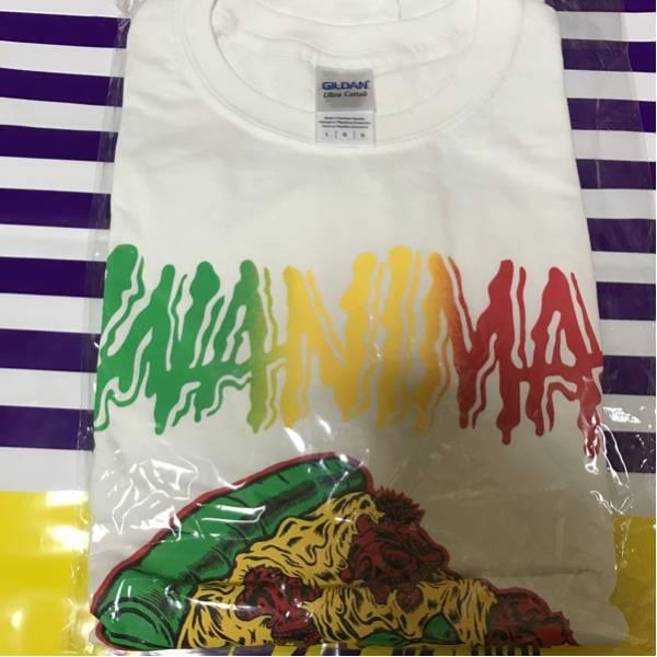 WANIMA Tシャツ ラスタ×pizza ライブグッズの画像
