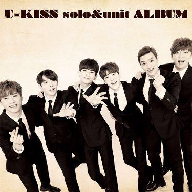 U-KISS solo unit アルバム CDのみ 未開封