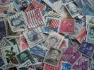 【大量・おまとめ】外国切手(アメリカ切手)使用済1,250枚