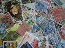 【大量おまとめ】外国切手使用済1,000枚(年代物有・紙はがし済)