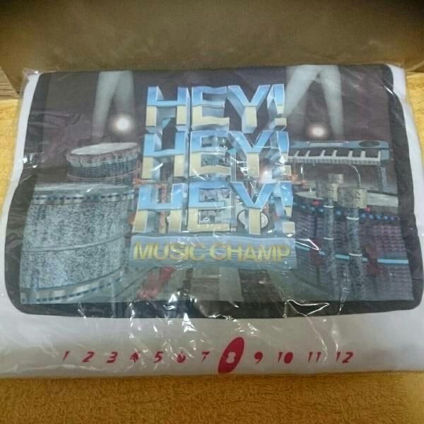 【未使用品】HEY!HEY!HEY! music CHAMP Tシャツ ダウンタウン ヘイ!ヘイ!ヘイ!