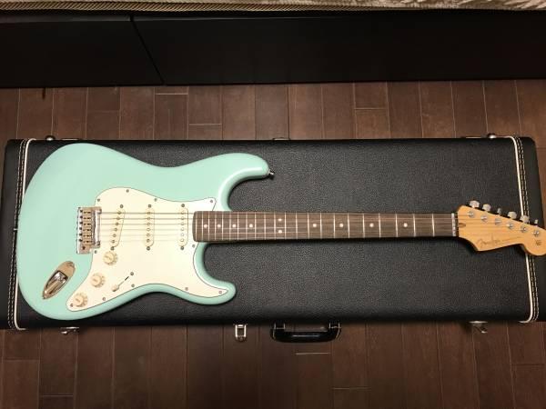 【美品】Fender Custom Shop Jeff Beck Stratocaster Surf Green ★即決送料無料 ★値下げ交渉あり