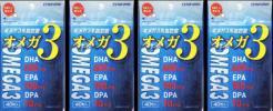 【4袋】マルマン オメガ3 オメガ3系脂肪酸 DHA400mg EPA100mg DPA10mg 日本製