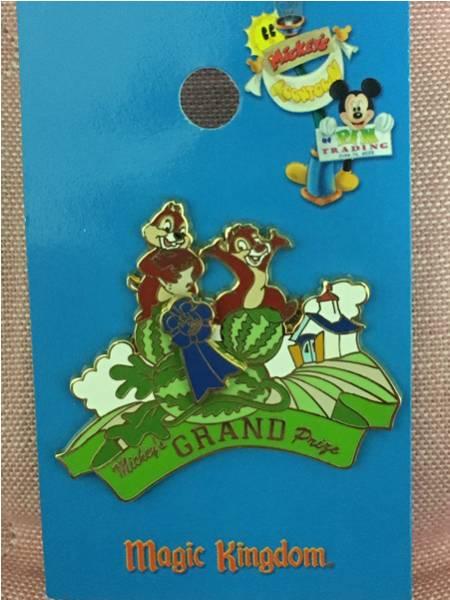 海外ディズニーランド限定 WDW チップ&デール マジックキングダム GRAND ピンバッジ ディズニーグッズの画像
