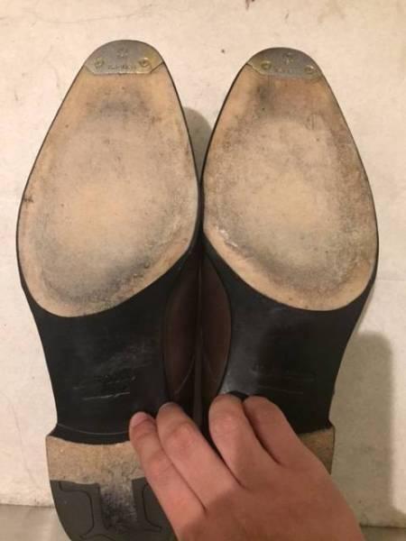 靴底(摩耗はほとんどありません)