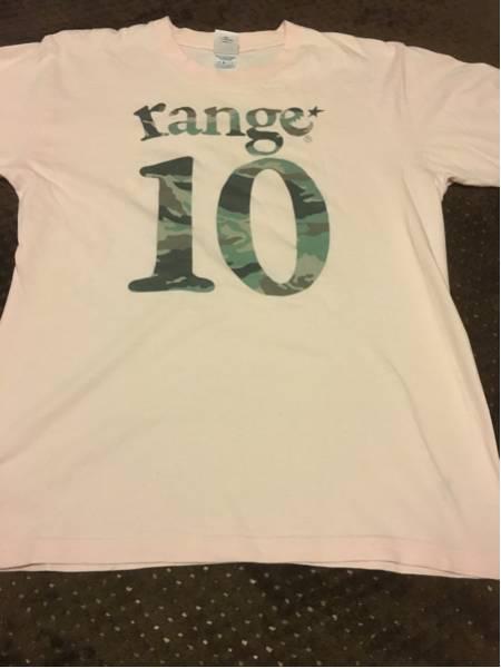 10-FEET range Tシャツ ライブグッズの画像